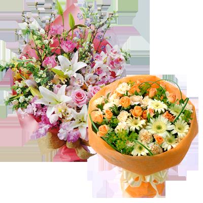 花キューピットタウン 送別のお花特集