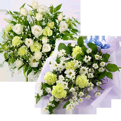 花キューピットタウン お供え・お悔やみの献花