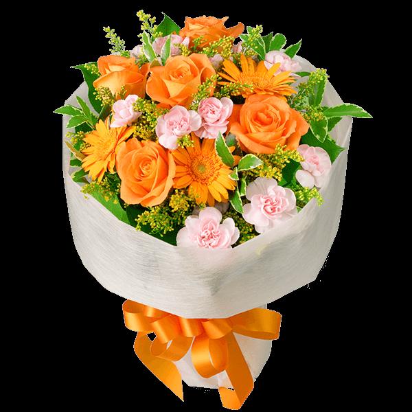男性におすすめ<br>花束 男性におすすめ<br>花束 上品で親しみやすい|花キューピットの春の退職祝い・送別会特集 2020