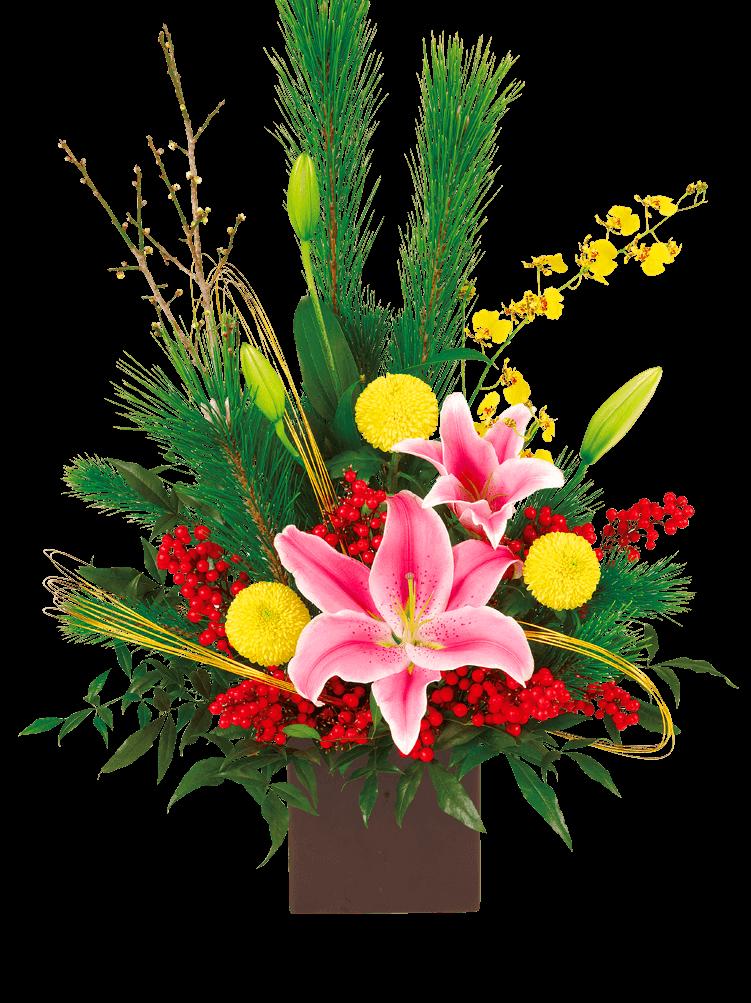お正月ギフト お正月ギフト 幸せな新年を願って|花キューピットの冬の花贈り特集 2019