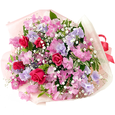 スイートピー 春の花贈り特集2021