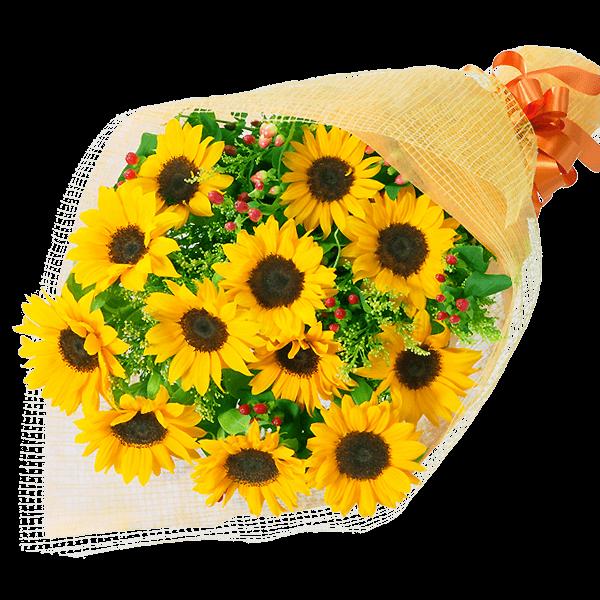 ひまわりギフト 太陽のような夏の花|花キューピットの夏の花贈りギフトおすすめギフト 2019