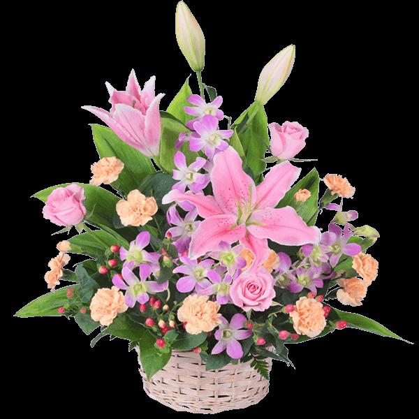 花キューピットのお祝い