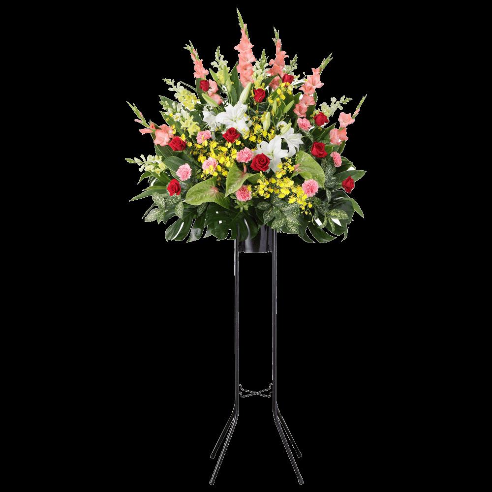 花キューピットのスタンド花