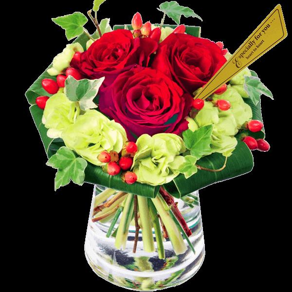 さりげなく贈る 小さめのブーケ|花キューピットのいい夫婦の日におすすめ!人気のプレゼント特集 2019