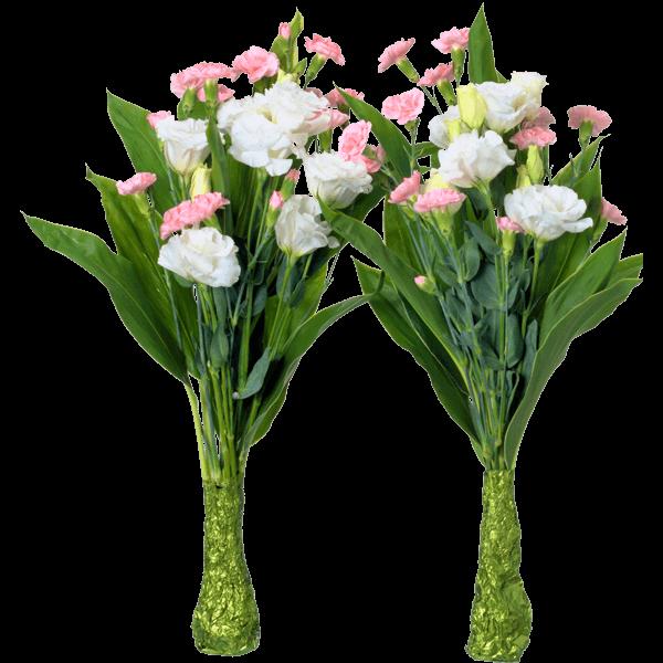 一対でお届けします墓前用花束|花キューピットのお盆(新盆・初盆)おすすめギフト 2019