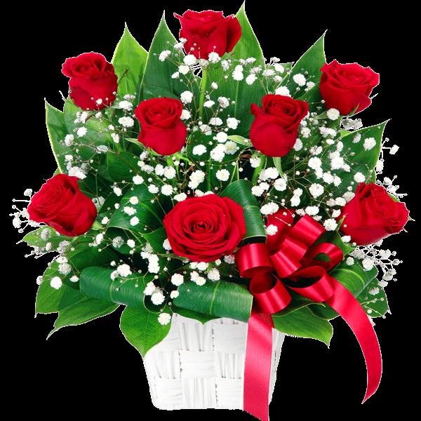 バラのギフト 情熱的に愛を伝える|フラワーバレンタイン 2018