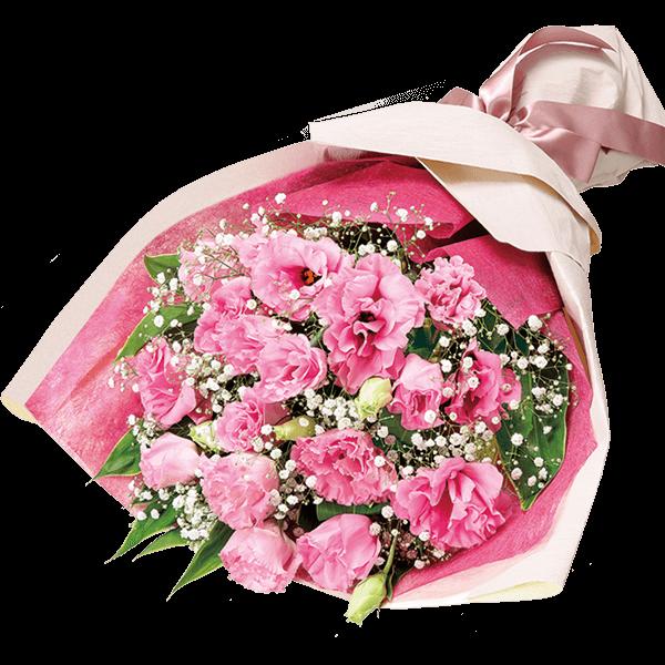 【誕生日フラワーギフト・トルコキキョウ】トルコキキョウの花束