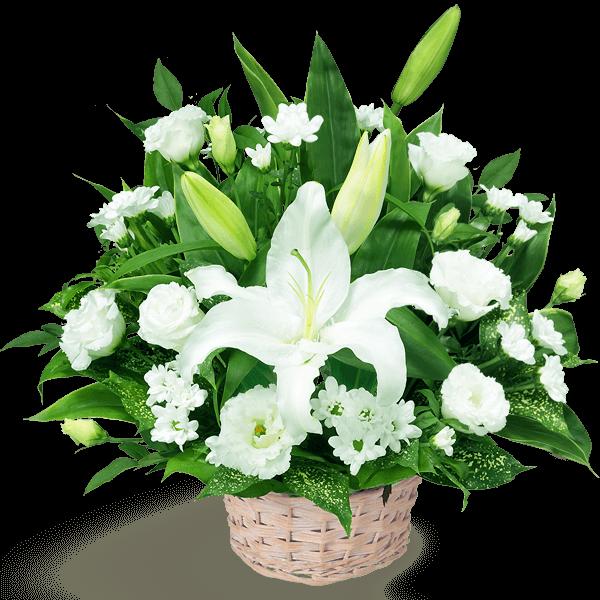 白上がりのお供え花|花キューピットのお盆・新盆におすすめ!人気のプレゼント特集 2020