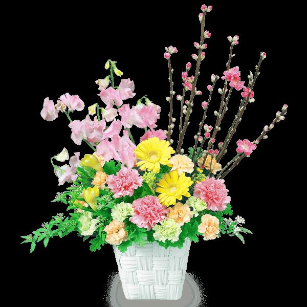 桃・桜の花 桃・桜の花 春の訪れを感じる|花キューピットのひな祭り特集 2020