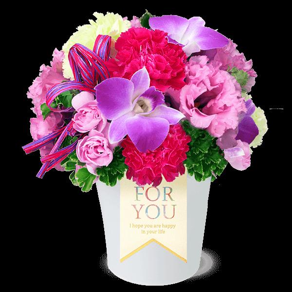 夏らしく色鮮やか 夏の誕生日ギフト|花キューピットの夏の花贈りギフトおすすめギフト 2019