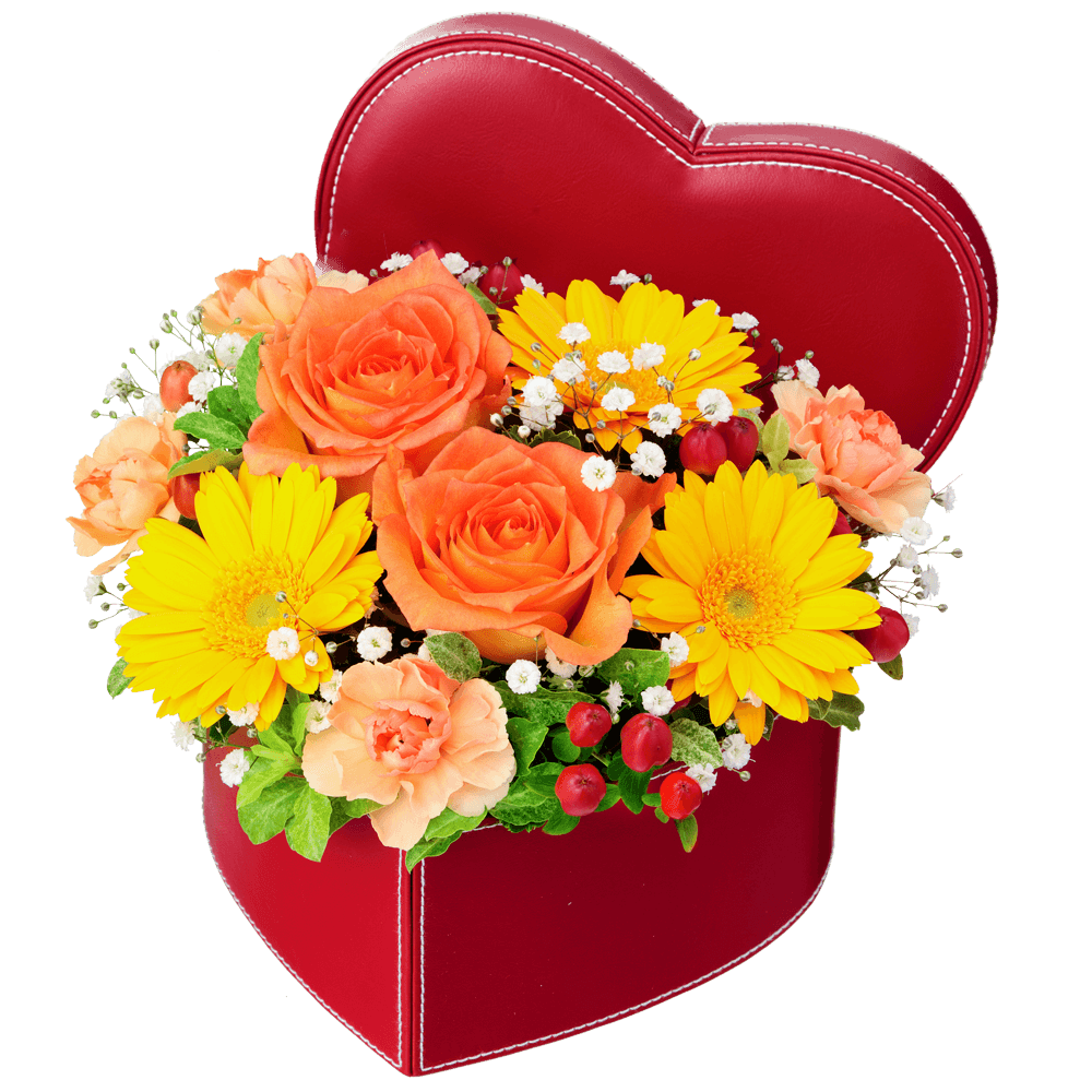 絆と信頼を表す花 オレンジバラのギフト|花キューピットの秋の結婚結婚記念日におすすめ!人気のプレゼント特集 2019