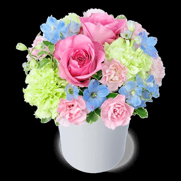 友達や家族の結婚祝いに 小さめのアレンジメント  |花キューピットの結婚記念日・結婚祝いにおすすめ!人気のプレゼント特集 2021