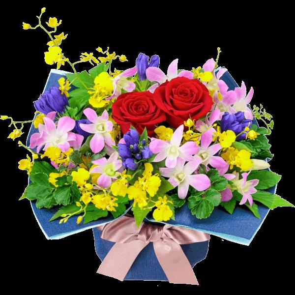 花キューピットの9月の誕生花・デンファレ