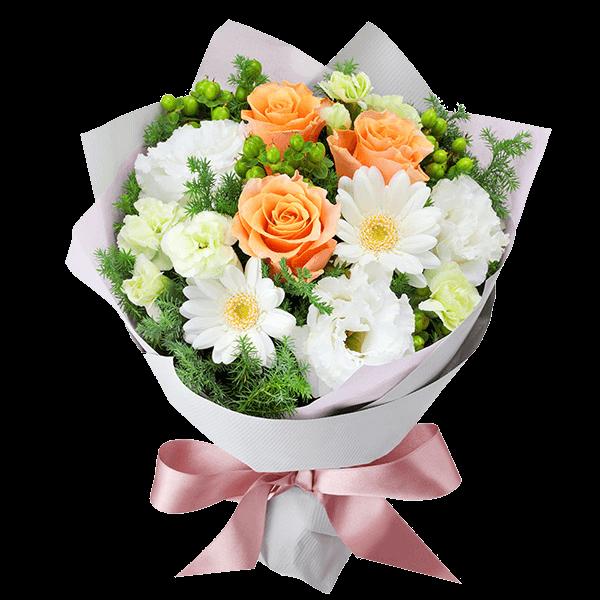 花キューピットの冬の誕生日プレゼント