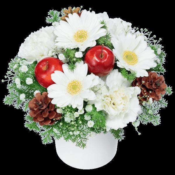 白系の花 冬の花贈り2020