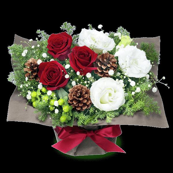 12月の誕生花・赤バラ