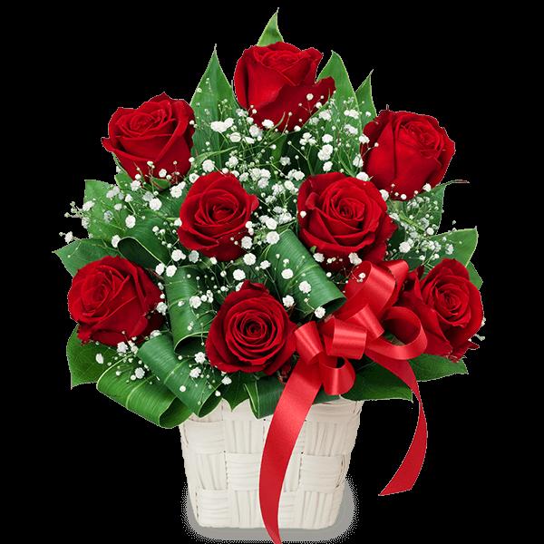 赤バラのプレゼント アレンジメント|花キューピットのバラ プレゼント・ギフトにおすすめ!人気のプレゼント特集 2021