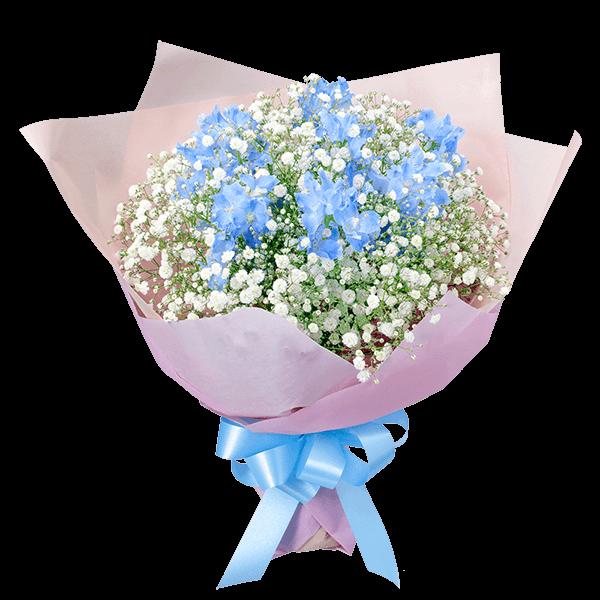 【結婚祝】サムシングブルーのブーケ