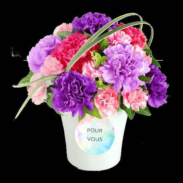 花言葉は「永遠の幸福」|花キューピットの母の日におすすめ!人気のプレゼント特集 2020