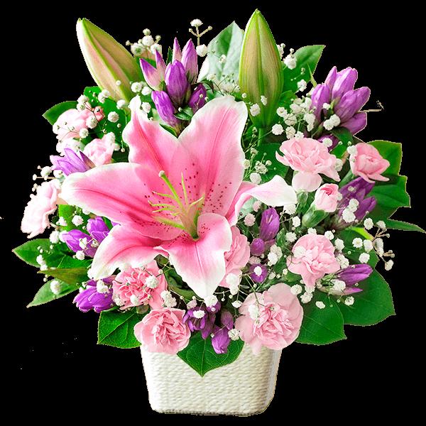 ユリのギフト ユリのギフト 高級感がある上品な花|花キューピットの敬老の日特集 2020