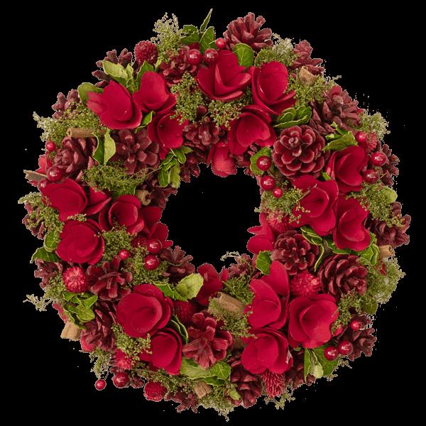ご自宅用にもおすすめ クリスマスリース|花キューピットのクリスマスにおすすめ!人気のプレゼント特集 2019