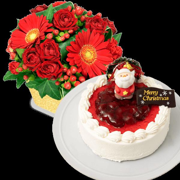 お花とセット スイーツ・雑貨と贈る|花キューピットのクリスマスにおすすめ!人気のプレゼント特集 2019
