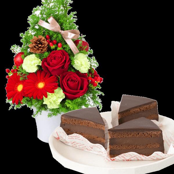 クリスマス お花とセット