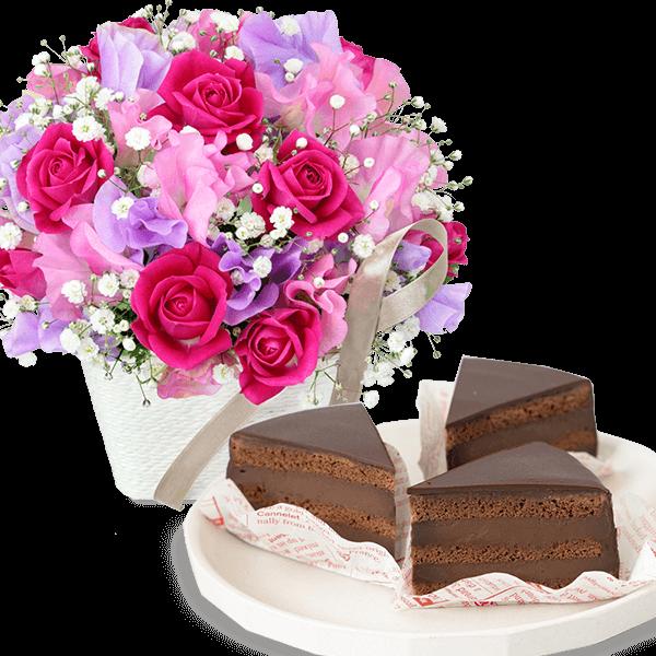 お花とセット お花とセット スイーツ・雑貨と贈る|花キューピットのホワイトデー特集 2020