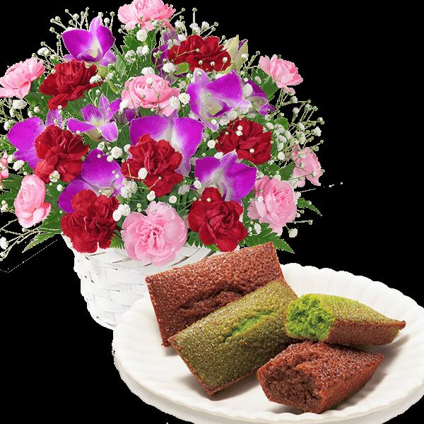 スイートと米粉のフィナンシェ(抹茶・ショコラ)