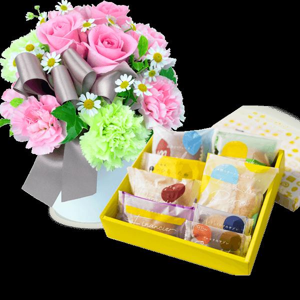 お花とセット お花とセット スイーツ・お酒と贈る|花キューピットのお歳暮・寒中見舞い特集 2019