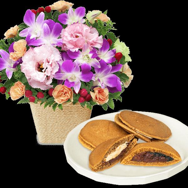 花キューピットの誕生日セットギフト