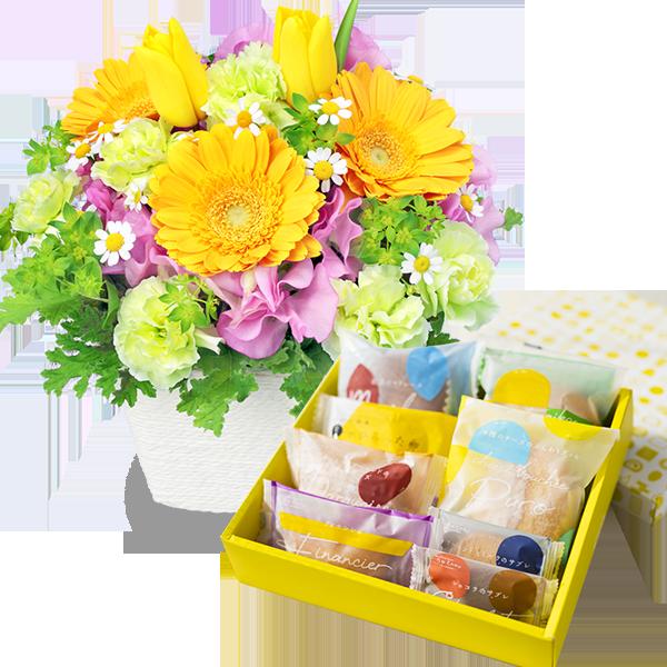お花とセット|花キューピットの春の退職祝い・送別会におすすめ!人気のプレゼント特集 2021