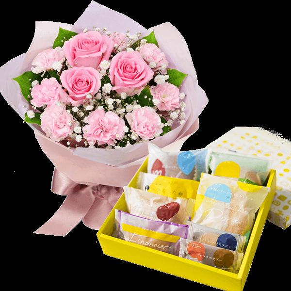 スイーツ・お酒と贈る お花とセット|花キューピットの結婚記念日・結婚祝いにおすすめ!人気のプレゼント特集 2021