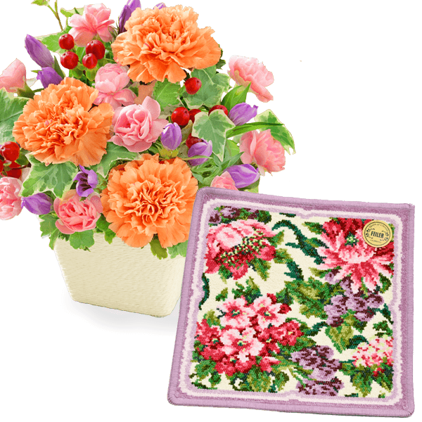お花と雑貨のセット 長くご愛用いただけます|花キューピットの敬老の日特集 2020