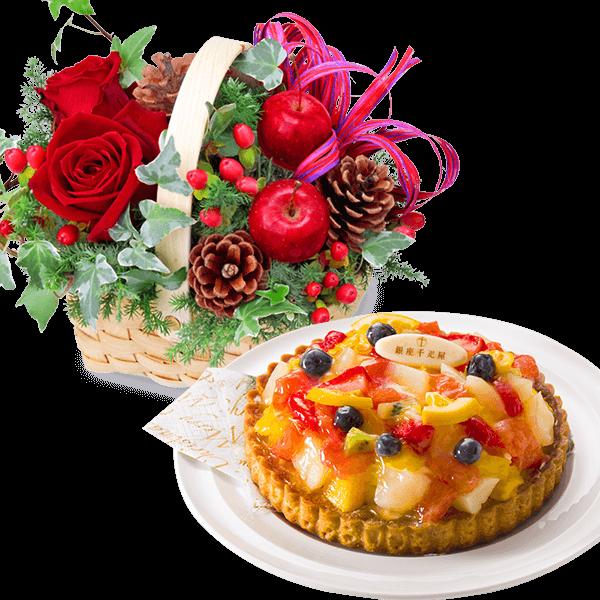 クリスマス お花とセットギフト 花キューピットのクリスマスのギフト・プレゼントにおすすめ!人気のプレゼント特集 2021