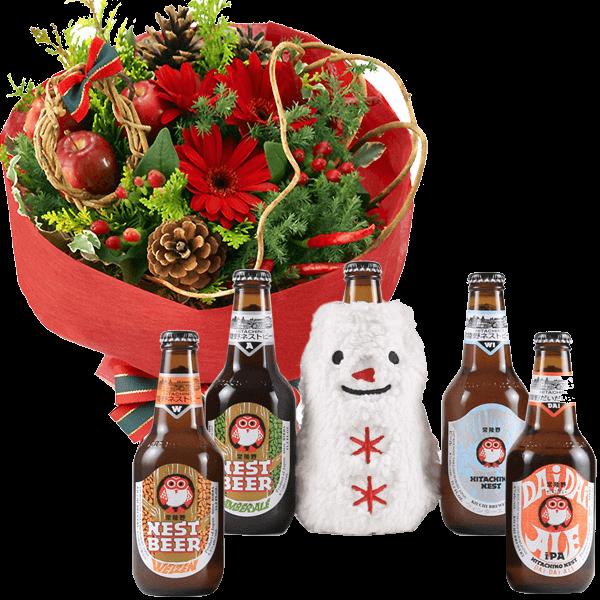 心安らぐ時を贈る お花とドリンクのセット|花キューピットのにおすすめ!人気のプレゼント特集 2020