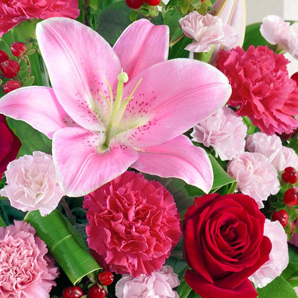 【母の日ギフト】幸せたっぷりアレンジメント母の日にたくさんの幸せをお届けします