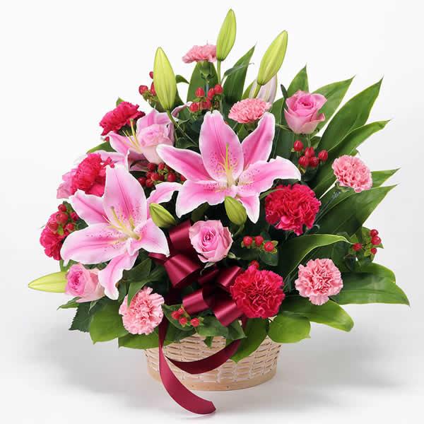 【母の日ギフト】豪華なアレンジメント ボリューム満点のお花と共に特別な母の日を