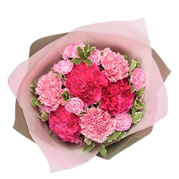 【母の日ギフト】ナチュラルブーケ(ピンク)鮮やかなピンクが引き立つ母の日ギフト