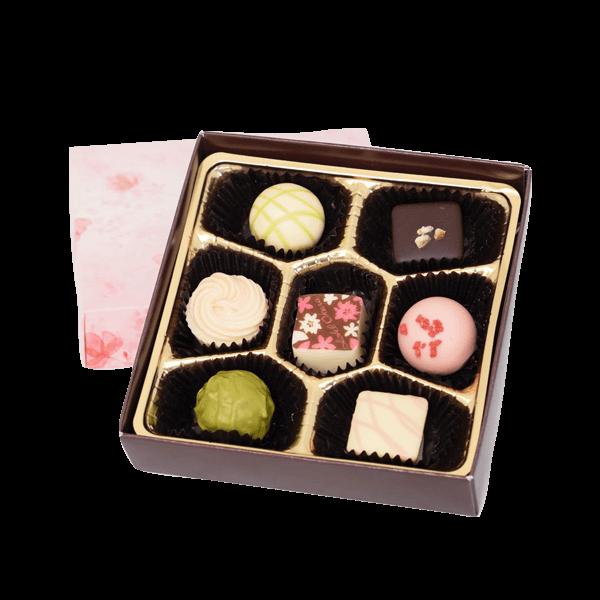 春を感じるショコラスプリングショコラ7個入|花キューピットのホワイトデーにおすすめ!人気のプレゼント特集 2020