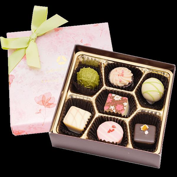 【ホテルオークラ】 スプリングショコラ7個入|花キューピットのホワイトデーにおすすめ!人気のプレゼント特集 2021