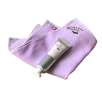 【Minette et Fleur】ハンドクリーム&ハンカチ |ホワイトデーセットギフト 2019