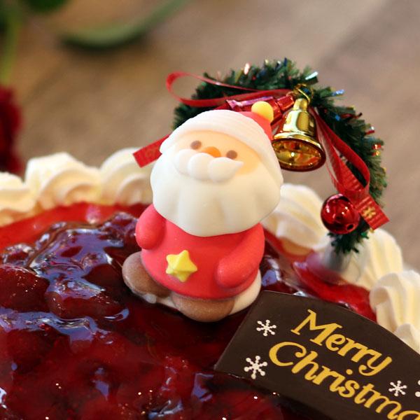 サンタさんが笑顔をお届けします