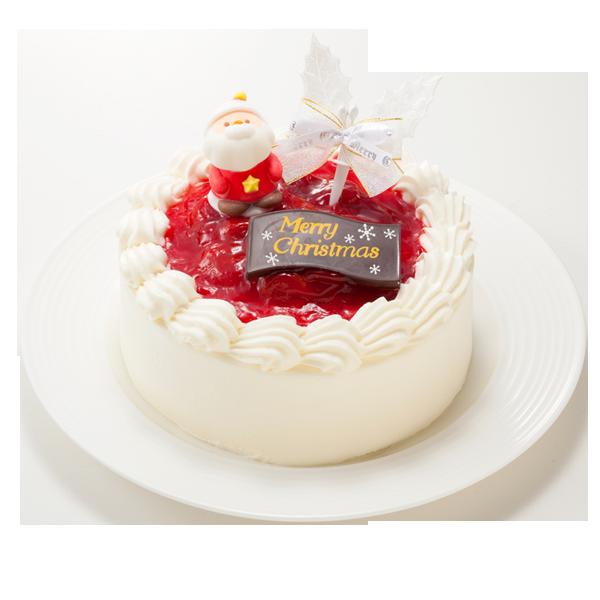 サンタが笑顔を届ける生クリームデコレーションケーキ|花キューピットのクリスマスにおすすめ!人気のプレゼント特集 2019