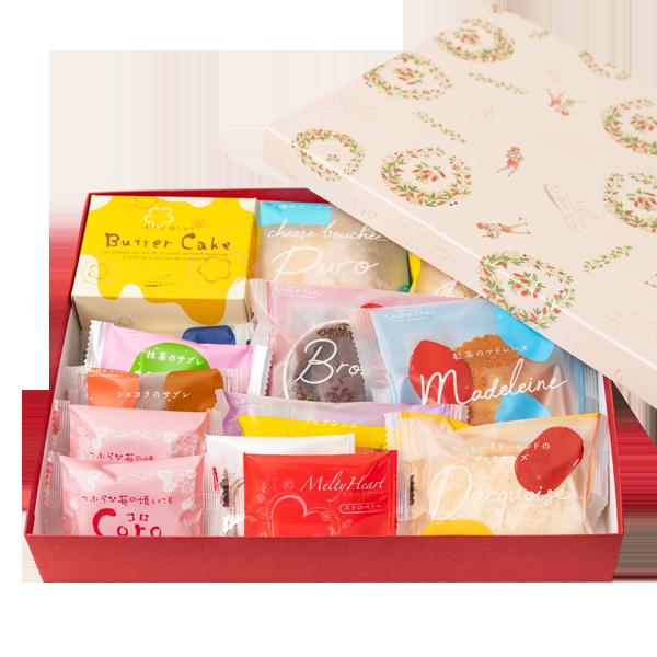 焼菓子のアソートガトー・ド・ボヤージュ 13種14個入|花キューピットのクリスマスにおすすめ!人気のプレゼント特集 2019