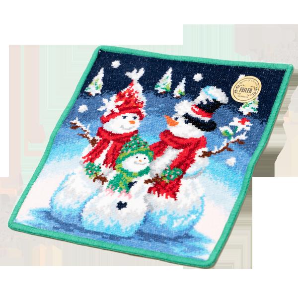 心あたたまるデザイン【フェイラー】シュネーマンファミーリエ ハンカチ|花キューピットのクリスマスにおすすめ!人気のプレゼント特集 2019