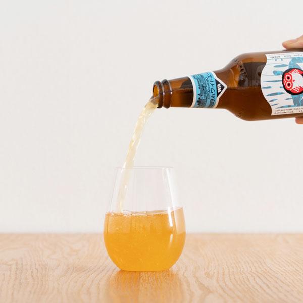 ほのかな酸味の小麦ビール「ホワイトエール」