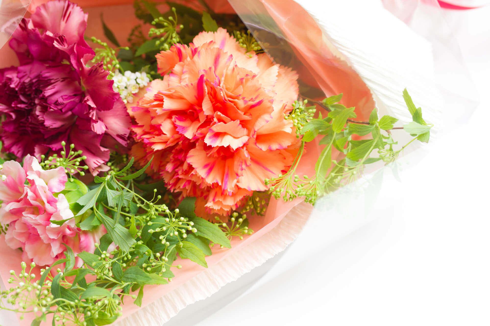 旅行とお花のプレゼント