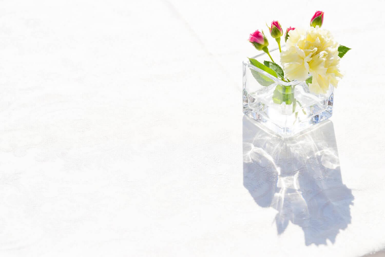 お花の持ちをアップする!水替えの重要性について